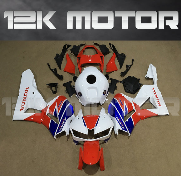 ---AU STOCKING---Fit Honda CBR600RR 2013 - 2019 Tri Color Fairing Kit With 3D Badges