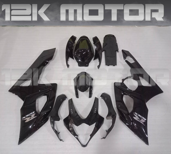 All Black Fairing Kit for SUZUKI GSXR 1000 2005 2006