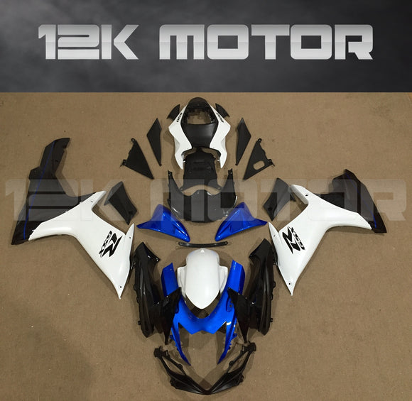 Blue White Black Fairing fit for SUZUKI GSXR 600/750 2011-2017 Aftermarket Fairing Kit