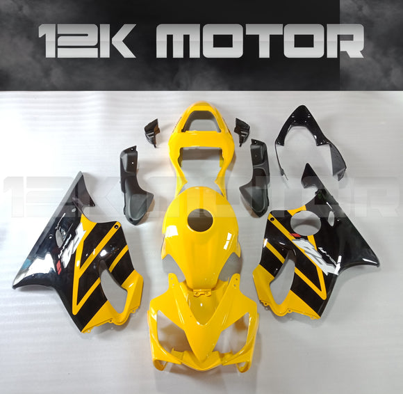 HONDA CBR600 F4 i Fairings 2001 2002 2003 Yellow Fairing kit