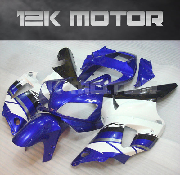Blue White Color Fairing For Yamaha R1 1998 1999 Aftermarket Fairing Kit