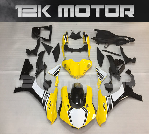 Yellow Motorcycle Fairing for Yamaha R1 2015-2019 Aftermarket Fairing kits