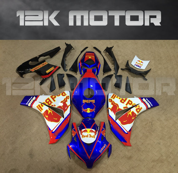 Red Bull Fairing  Fit for HONDA CBR1000RR 2008-2011 Aftermarket Fairing Kit