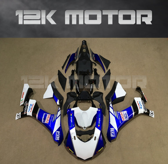Blue White Motorcycle Fairing for Yamaha R1 2015-2019 Aftermarket Fairing kits