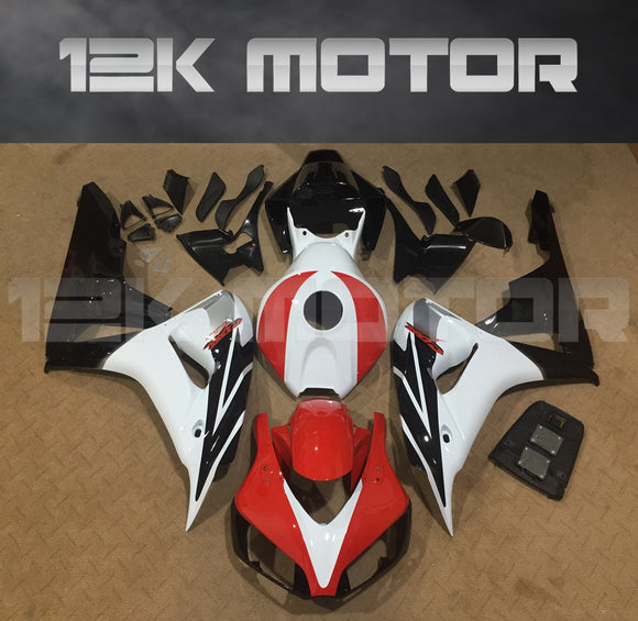 Red White  fit for HONDA CBR1000RR 2006 2007 Aftermarket Fairing Kits