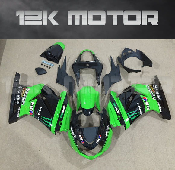 Green Monster Fairing Kit for Kawasaki Ninja 250 Fairings EX250 2008 2009 2010 2011 2012