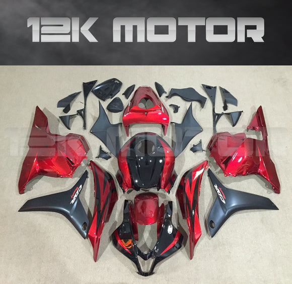 Candy Red and Black Fairing fit for HONDA CBR600RR 2009-2012 Aftermarket Fairing Kit