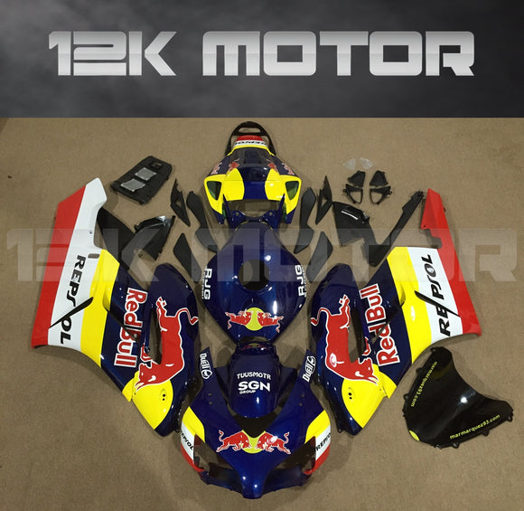 HONDA CBR1000RR 2004 2005 Red Bull Fairing