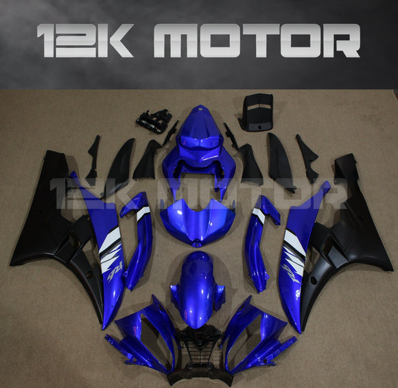R6 2006 2007 Plain Dark Blue Fairing