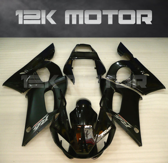 Black Color aftermarket Fairing fit for Yamaha R6 1998-2002