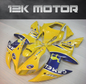 Yellow Color Fairing For Yamaha R1 2002 2003 Aftermarket Fairing Kit