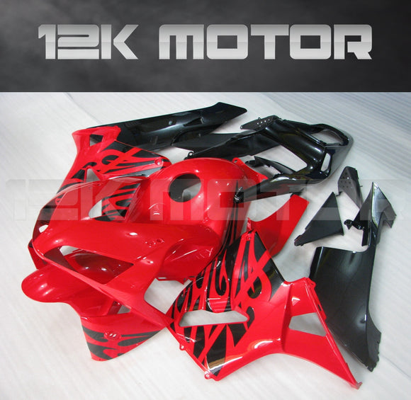 Red Fire Fairing Kit Sets Fit for HONDA CBR600RR F5 2003 2004 Aftermarket Fairing Kit
