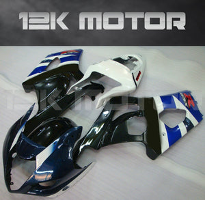 Black and White Fairing fit for SUZUKI GSXR1000 2003 2004 Aftermarket Fairing Kit
