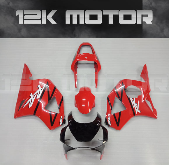 HONDA CBR954RR Fairings 2002 2003 Red Fairing Kit Set
