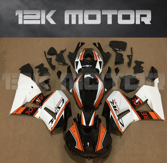 CBR600RR fairings 2013 2014 2015 2016 2017 2018 2019 Aftermarket Honda Fairings Black White Orange kits