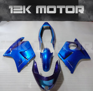 Fit HONDA CBR1100XX Blackbird 1996 - 2007 Blue Fairing Kit
