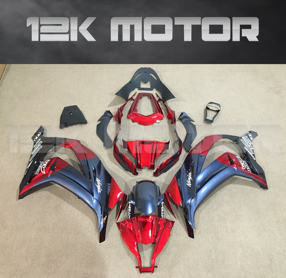 Candy Red Fairing kit fit 2011 2012 2013 2014 2015 Kawasaki ZX-10R