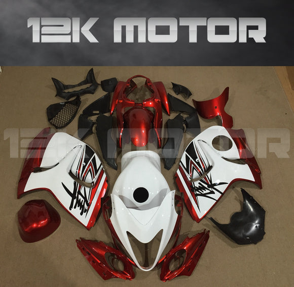 SUZUKI Hayabusa GSX1300R Fairings 2008-2018 Candy Red Fairing Kits