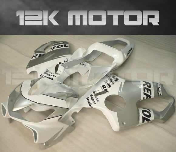 Silver Fairing Fit for HONDA CBR600RR 2001-2003 Aftermarket Fairing Kit