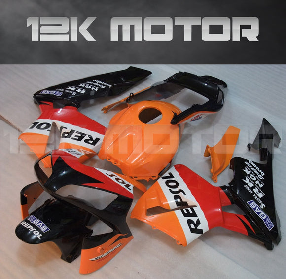 Repsol Design Fairing Kit Sets Fit for HONDA CBR600RR F5 2003 2004 Aftermarket Fairing Kit
