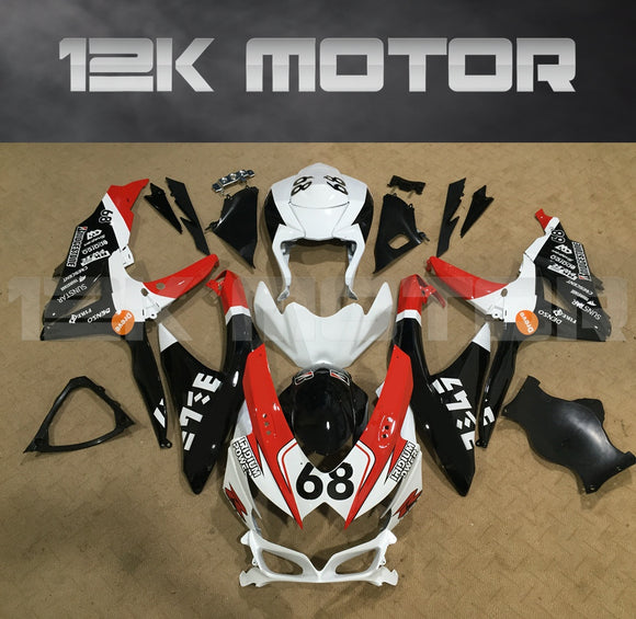 68 Design Fairing Fit for SUZUKI GSXR 600/750 2008-2010 Aftermarket Fairing Kit