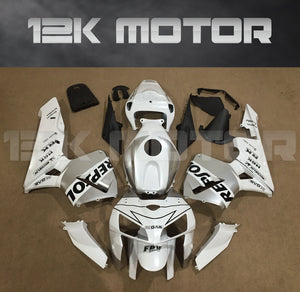 White Silver Repsol Fairing Fit for HONDA CBR600RR 2005 2006 Aftermarket Fairing Kit