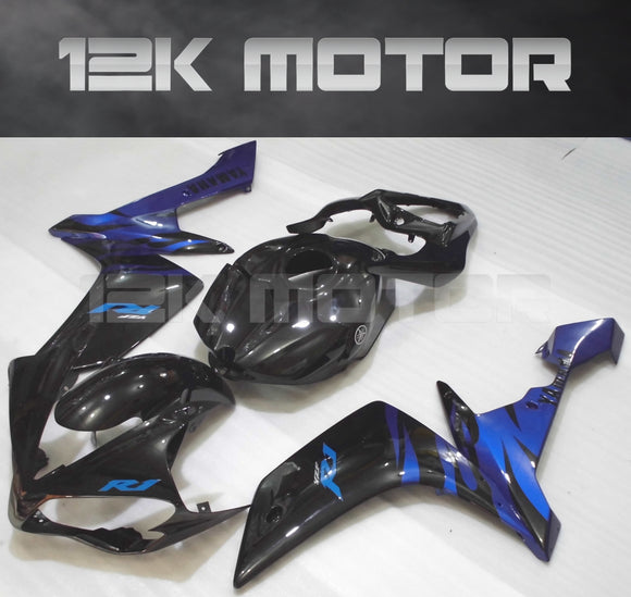Black Blue Fairing for Yamaha R1 2007 2008 Aftermarket Fairing kits