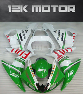 Green FIAT Fairing fit for  fit for Yamaha 2003 2004 2005 R6  Fairing Kits