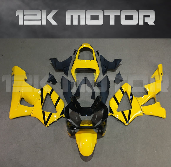 Black Yellow Fairing fit for HONDA CBR929RR 2000 2001 Aftermarket Fairing Kit