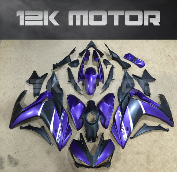 Satin Purple OEM Replacement FairingFor Yamaha YZF-R3 2015-2017 Aftermarket fairing kits