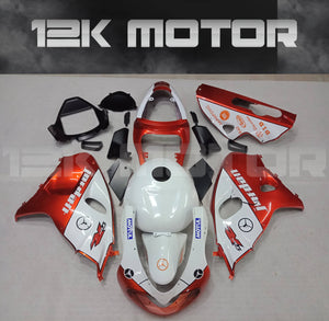 SUZUKI TL1000R 1998-2003 Fairing Orange White