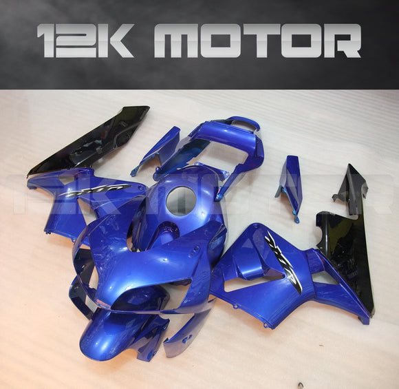 Blue Black Fairing Kit  Fit for HONDA CBR600RR F5 2003 2004 Aftermarket Fairing Kit