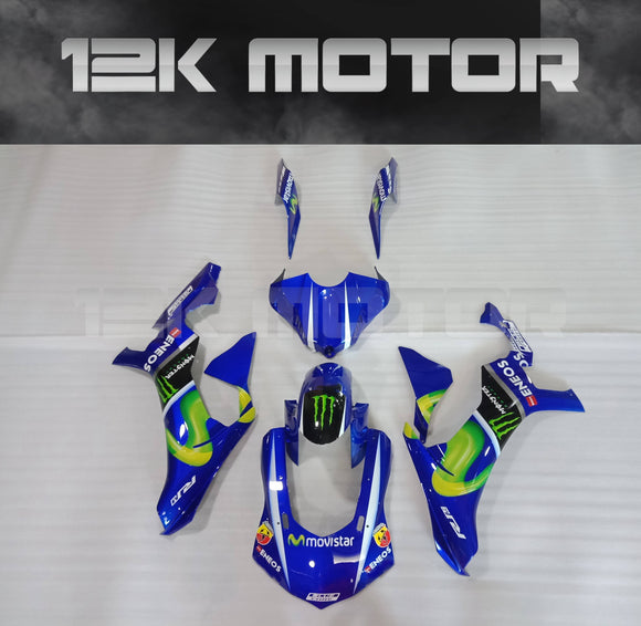 Movistar Scheme Fairing Kit for Yamaha R1 2015-2019