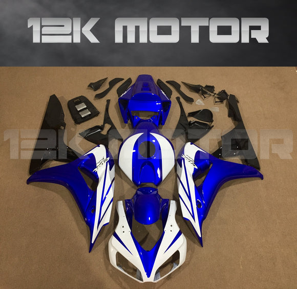 Blue and White Fairing fit for HONDA CBR1000RR 2006 2007 Aftermarket Fairing Kits