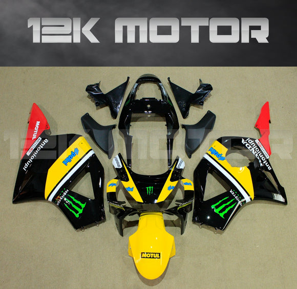 Black Yellow and Red Fairing fit for HONDA CBR954RR 2002 2003 Aftermarket Fairing Kit