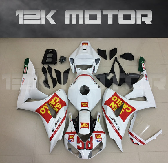White Fairing fit for HONDA CBR1000RR 2006 2007 Aftermarket Fairing Kits
