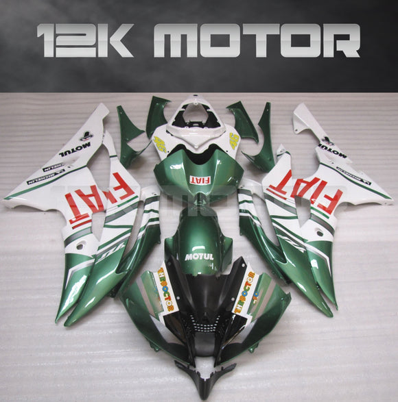 Green Fairing Kit fit for Yamaha R6 2008-2016 Aftermarket Fairing Kits