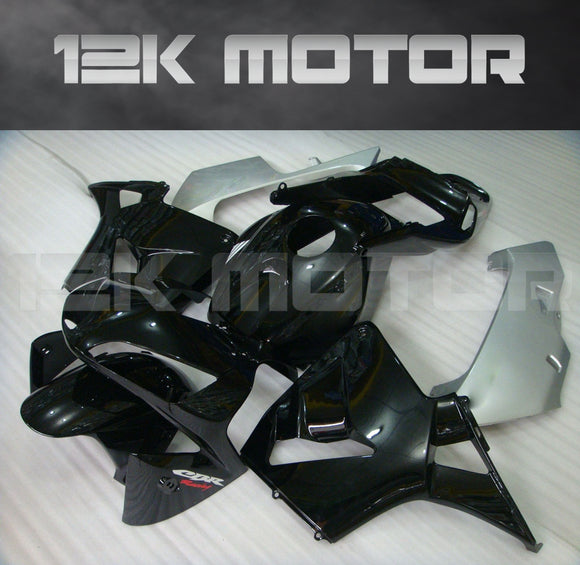 HONDA CBR600RR F5 2003 2004 All Black Fairing Kit Aftermarket Fairing Kit