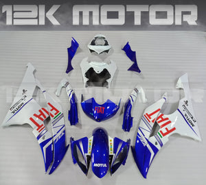 Blue FIAT Fairing Kit for Yamaha 2008-2016 R6 Aftermarket Fairing Kits
