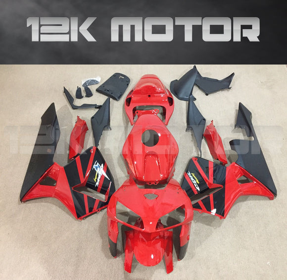 Red and Black design Fairing kits Fit for HONDA CBR600RR 2005 2006 Aftermarket Fairing Kit