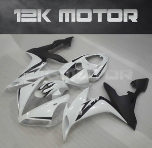 White Black Fairing For Yamaha R1 2004-2006 Aftermarket Fairing Kit