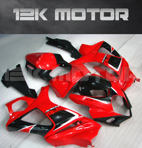 Black and Red Design Fairing Fit for SUZUKI GSXR 1000 2007 2008 Aftermarket Fairing Kit