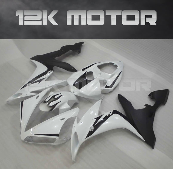 White Black Fairing For Yamaha R1 2004 2005 2006 Aftermarket Fairing Kit