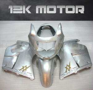 Sliver Fairing for HONDA CBR1100XX Blackbird 1996-2007 Aftermarket Fairing Kit