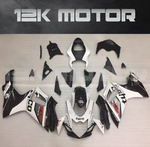 Tyco Black White Fairing Kit for 2011 to 2020 SUZUKI GSXR 600 GSX-R750