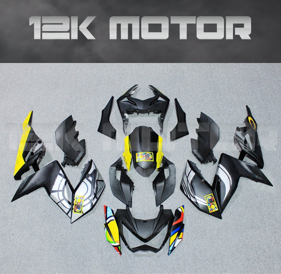 Aftermarket Fairing Kit Fit KAWASAKI Z300 Z250