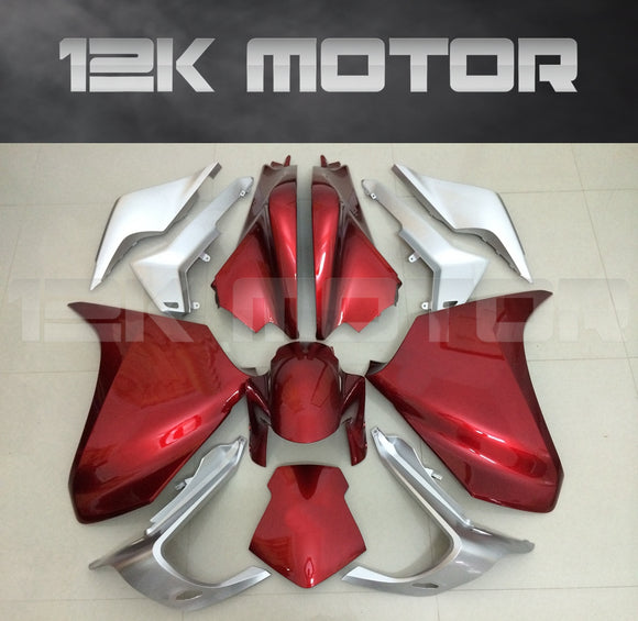 Dark Red Fairing Fit HONDA VFR1200F 2010 - 2013 Aftermarket Fairing Kits
