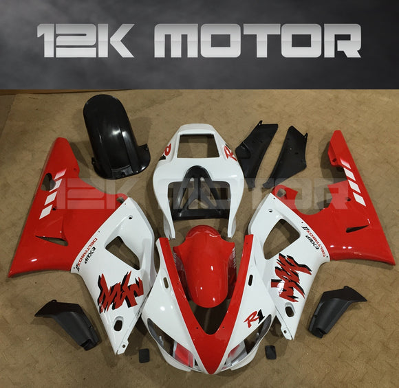 Red White Color Fairing For Yamaha R1 1998 1999 Aftermarket Fairing Kit