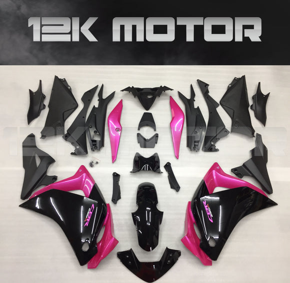 Black Pink Fairing fit for HONDA CBR250R 2011-2014 Aftermarket Fairing Kit