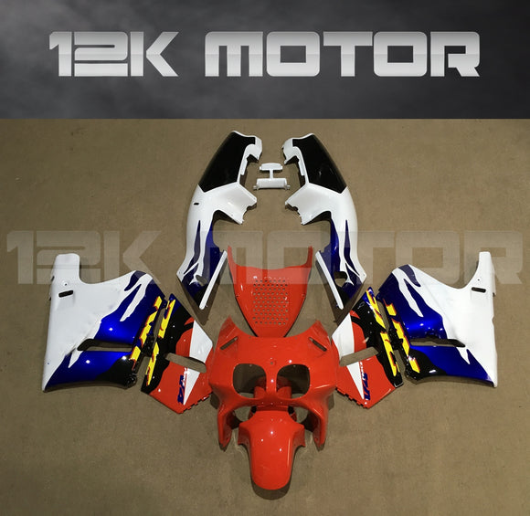 Tri Color Fairing Kit Fits HONDA VFR 400 R NC30 1989 - 1993 Aftermarket Fairing